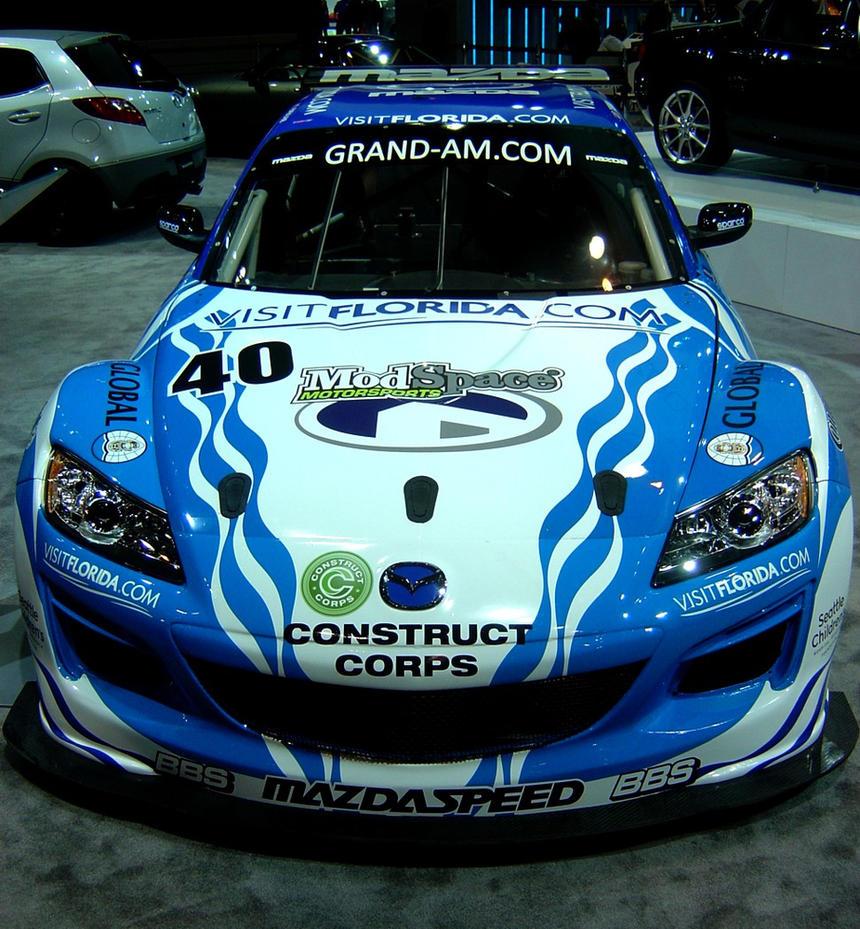 Mazda RX-8 race car 1 by Sonic-CDX on DeviantArt