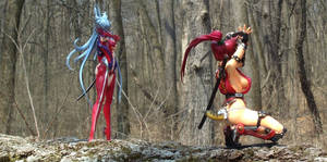 Witchblade outdoor shoot 5