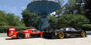 Pagani Zonda R vs Toyota GT-1 s2-01