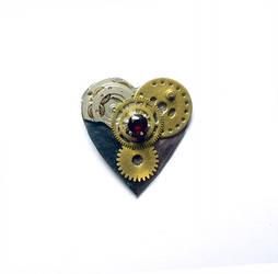Heart Geared Up by KubusRubus