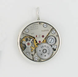 Silver Clockwork - Marvin by KubusRubus