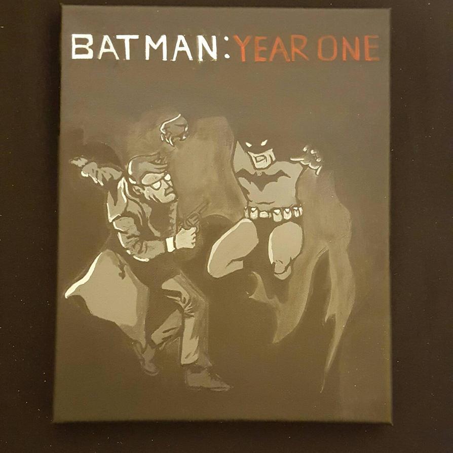 Batman Year One 8 x 10 by BlueZoooMedia