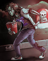 Stefana (zombified) by R3dFangz