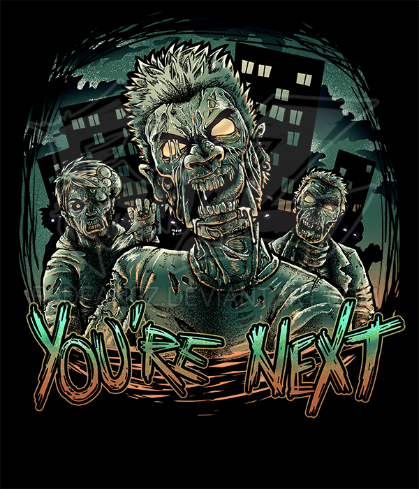 halloween zombies t shirt design by r3dfangz on deviantart