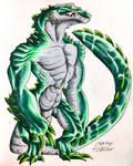 Gator Guy by CreativeFiddler