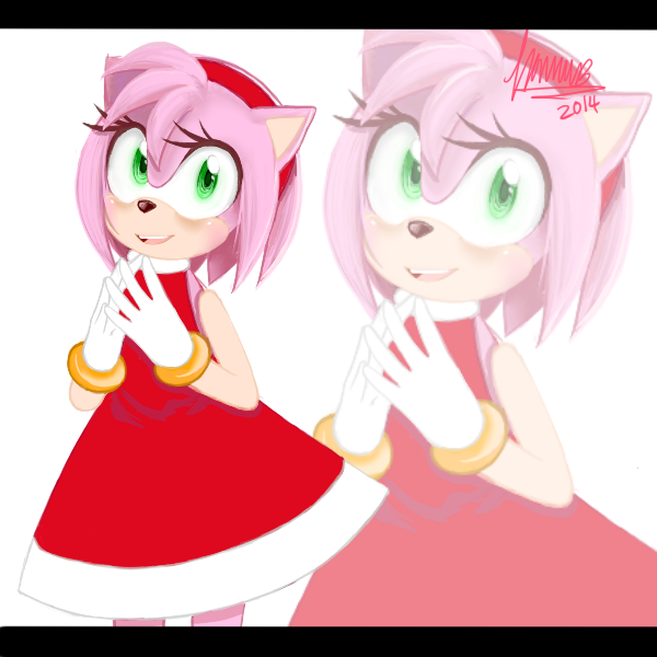 Amy Rose by Fommi
