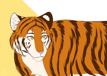 Simple Tiger by Q-mii