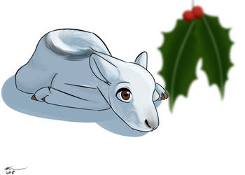 the REAL christmas drawing by Q-mii