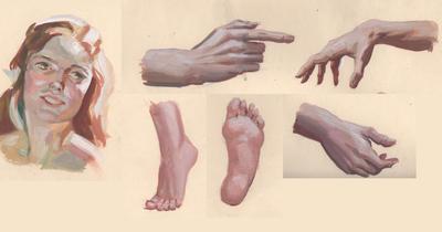 Gouache practice by JulieMi
