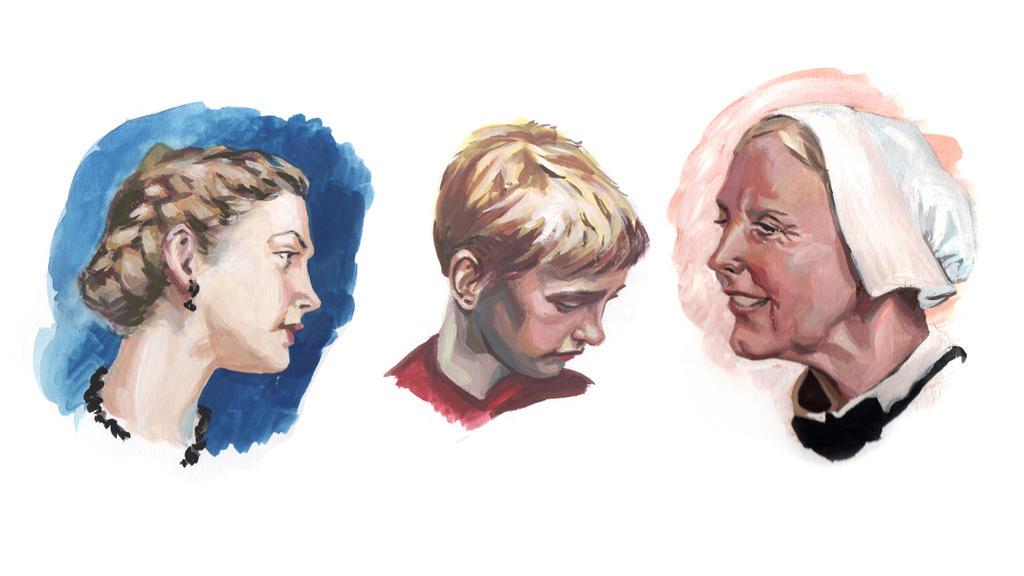 Heads by JulieMi