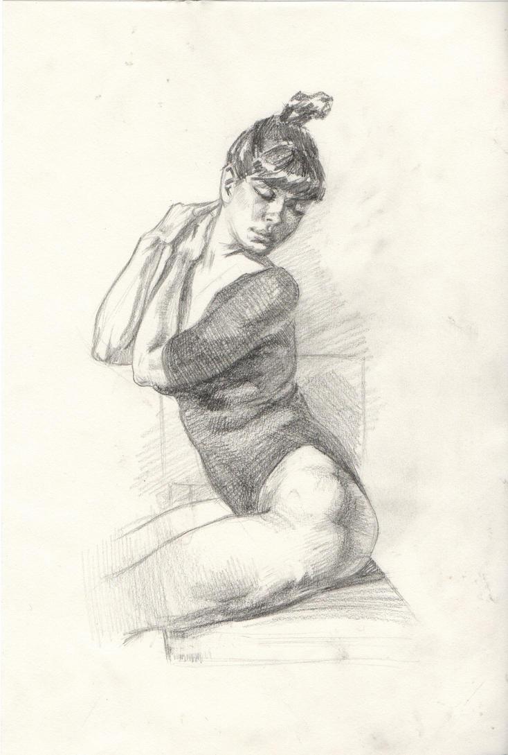 Figure study by JulieMi