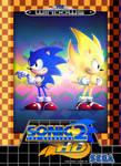 Sonic 2 HD (Sonic Fangame Boxart)