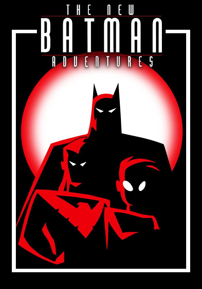 The new batman adventures poster by rollingtombstone on deviantart