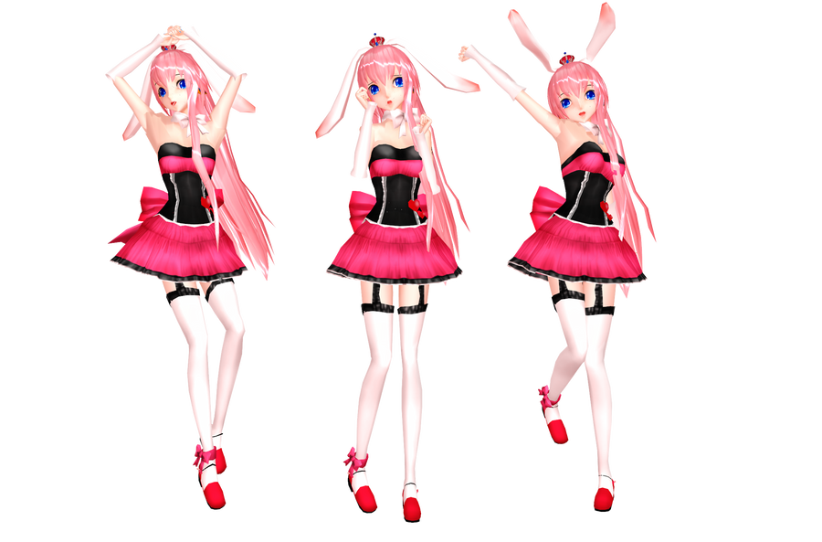 MMD Miku Bunny