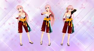 MMD Luka Kimono
