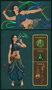 OCC Arcane Idol - Dhiyani The Bubble Dancer