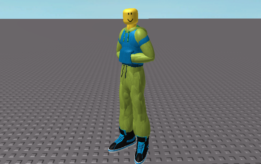 Roblox noob side view