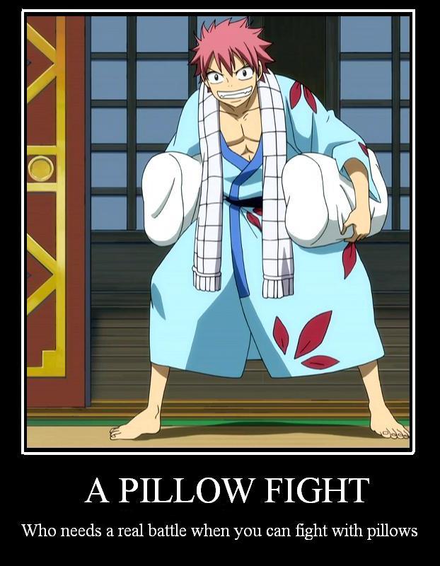oreiller fairy tail Fairy Tail Motivational: Pillow Fight by TheMJE on DeviantArt oreiller fairy tail