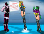 Ms. Marvel caught by Grimbor