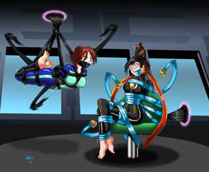 Joanna, Bayonetta Bound Duel by ARNie00