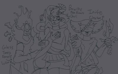 Arcane Idol Ideas sketch (read desc)