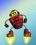 Stick Figure iron man