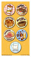 Canadian Yums - Button Set