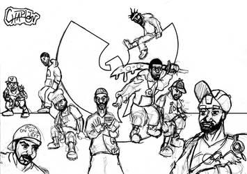 Wu Tang Clan by Chaplow