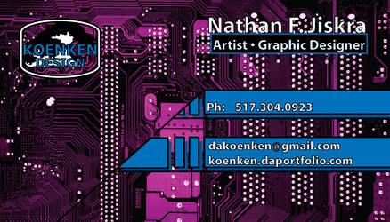 Koenken Design Biz Card by Koenken
