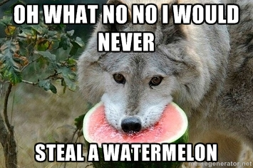 I Would NEVER Steal by BluberySmile5108