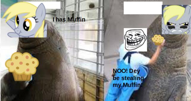MLP MUFFIN NOOO! by BluberySmile5108