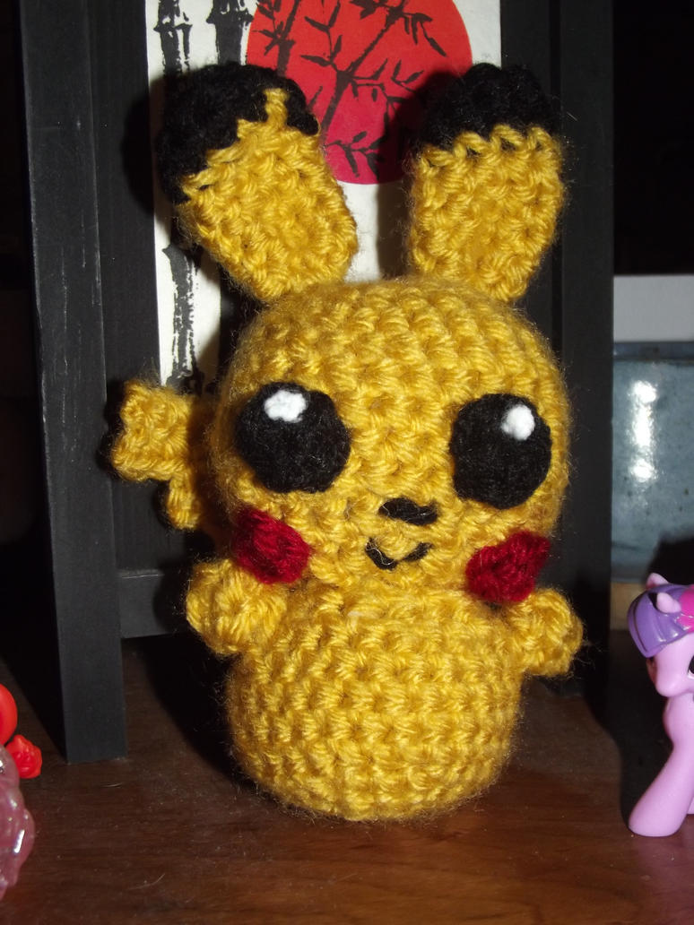 Pikachu bunny amigurumi. :3 by Amigurumi-Lover