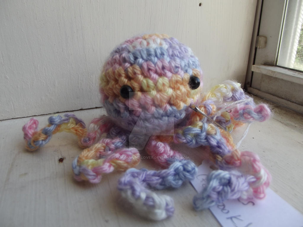 Mini Amigurumi Octopus : Mini Octopus by Amigurumi-Lover on DeviantArt