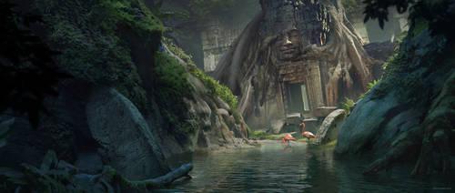Temple by otomozok
