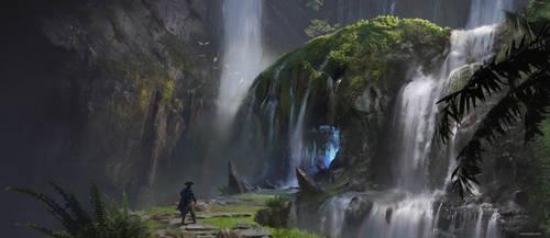 Cave by otomozok
