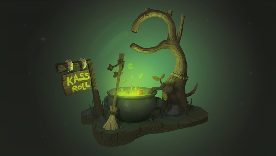 Kass'roll by Whalzz