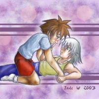 Riku X Sora Shoujoy by maverick-jade