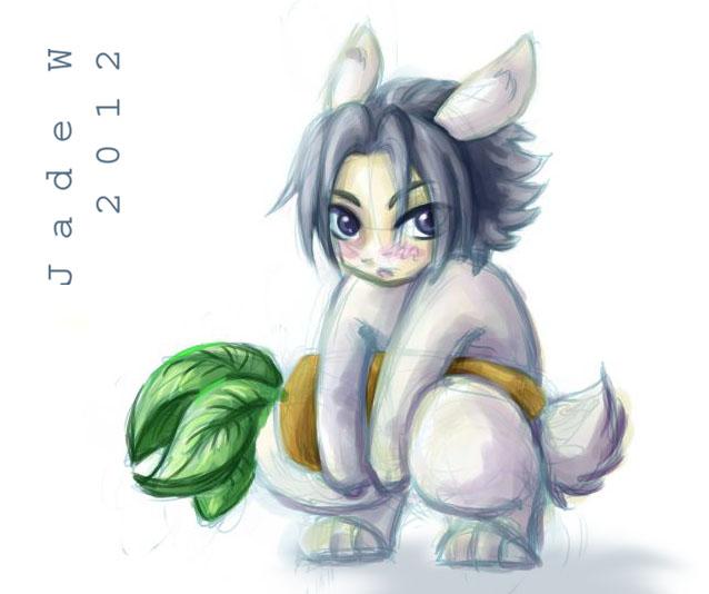 Sasuke Bunny by maverick-jade