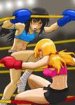 Heather vs Haruka - On the Ropes