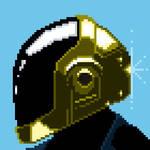Daftpunk Guy pixel art