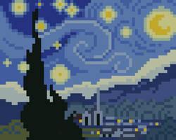 Pixel Night by PXLFLX