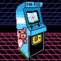 Arcade machine pixel art by PXLFLX