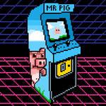 Arcade machine pixel art
