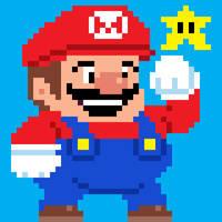 Mario Taito style pixel art by PXLFLX