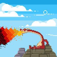Dragon Roost Island pixel art by PXLFLX