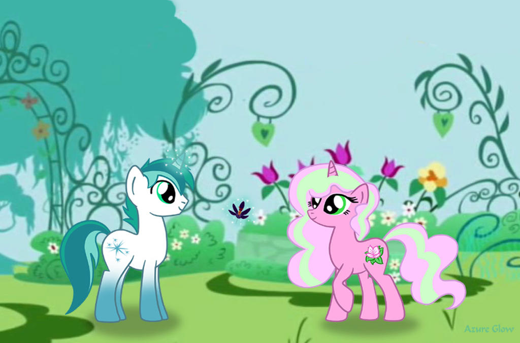 Mlp a flower for you by thestarsofpines on deviantart - My little jardin ...