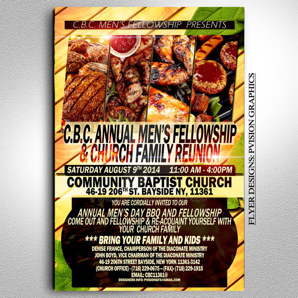 Church Bbq Flyer By Philvision On Deviantart
