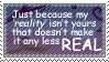 Stamp: My Reality by MishaSu