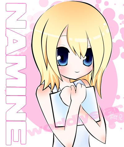 Namine :.Kingdom Hearts.: by WorldlyStar on DeviantArt