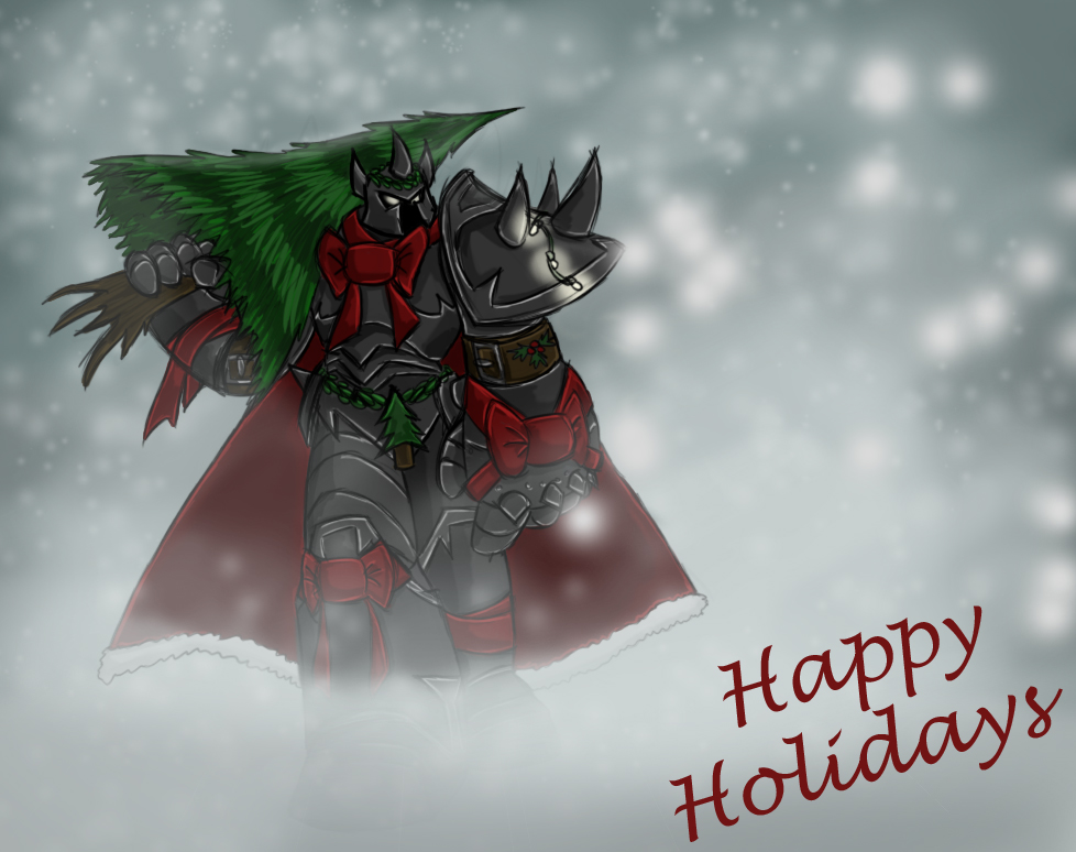 Christmas Mordekaiser by TheDracoJayProduct